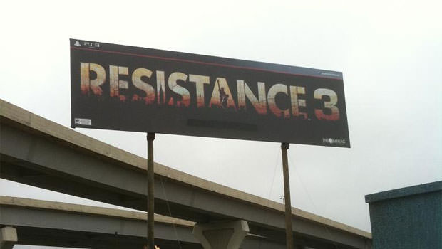 resistance 3 gets its own roadsigns? what?