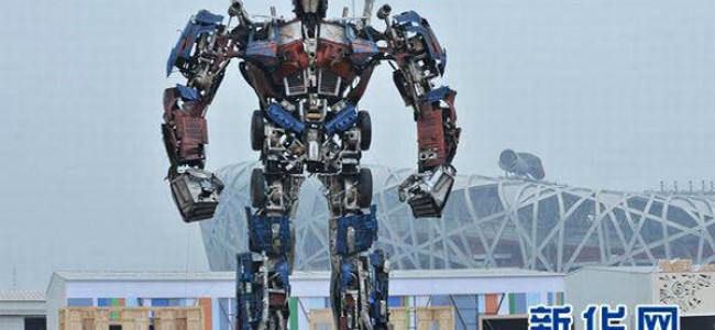 Optimus Prime Arrives in China
