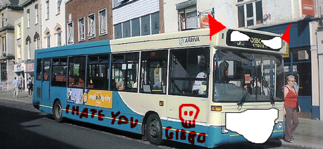 Take a Bus on the Wild Side – Or How Buses Hate Us