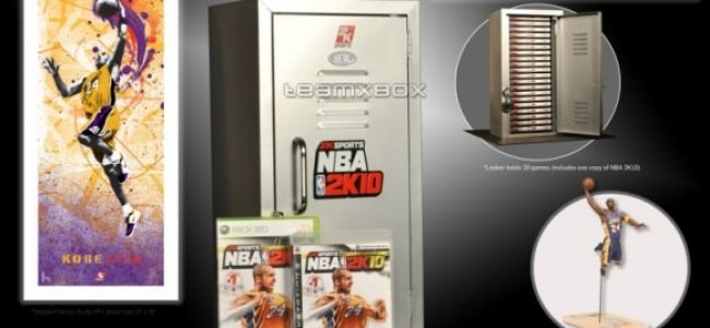 NBA 2K10 comes with furniture