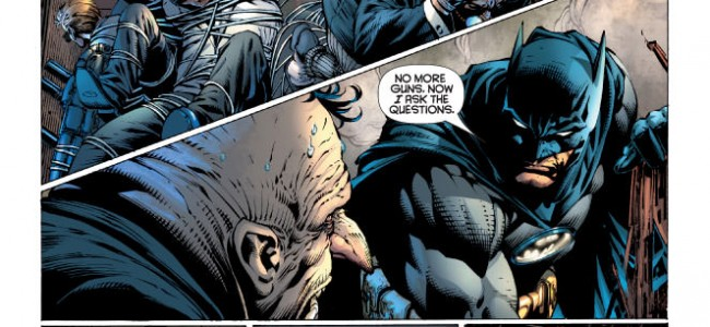 The Batman Doesn't Like Guns, AT ALL
