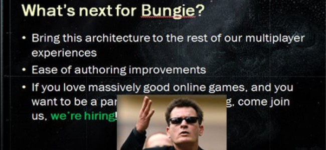 Bungie NOT Working on an MMO