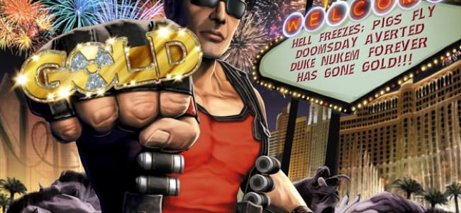 Duke Nukem Forever Goes Gold