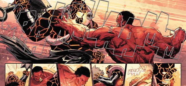 Red Hulk GETS Smashed, by Fear Itself (Hulk #37 Preview)