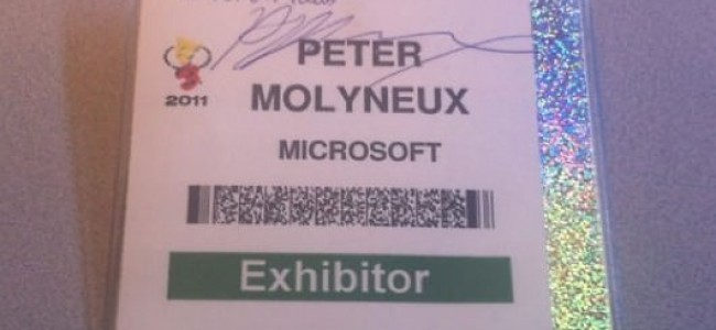 Want to Own a Piece of Peter Molyneux Memorabilia?