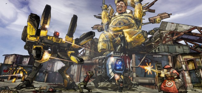 Borderlands 2 Shows Us Some Assets