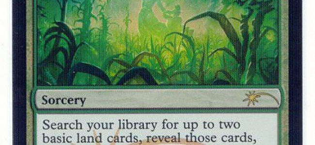 August's FNM promo – Cultivate.