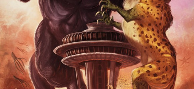 Axe Cop: President of the World #2 – Comic Review