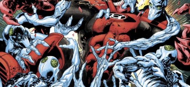 From the Comic Hold: Red Lanterns #14