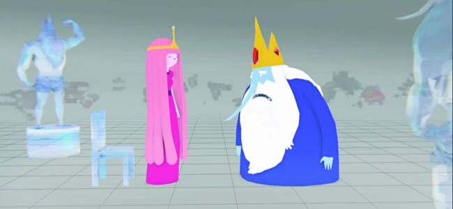 "We Got a Sneak Peak of the new Adventure Time ""A Glitch is A Glitch"" for you!"