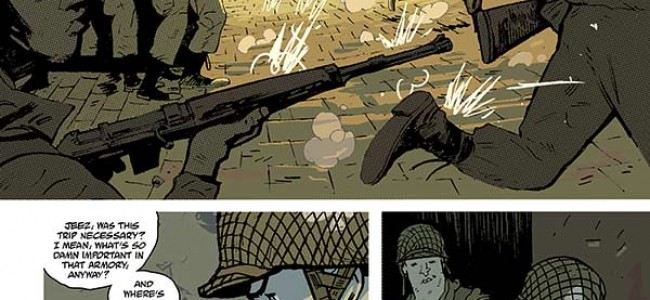 From the Comic Hold: Sledgehammer 44 #1