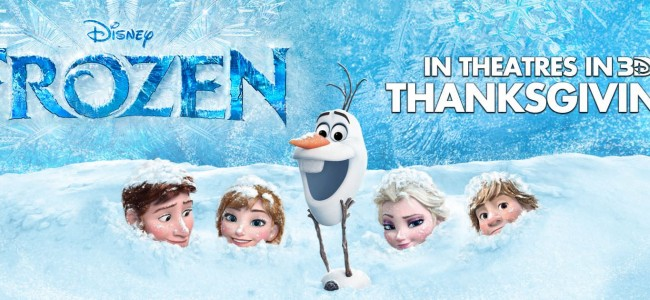 Disney Gives Us Our First Look At Frozen