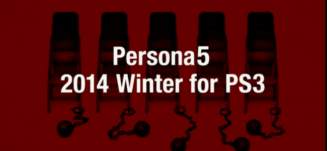 Atlus Drops Major Persona Announcements, Persona 5 Coming Winter 2014