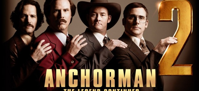 The Legend Continues In Anchorman 2