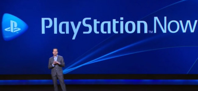 Sony Announces PlayStation Now