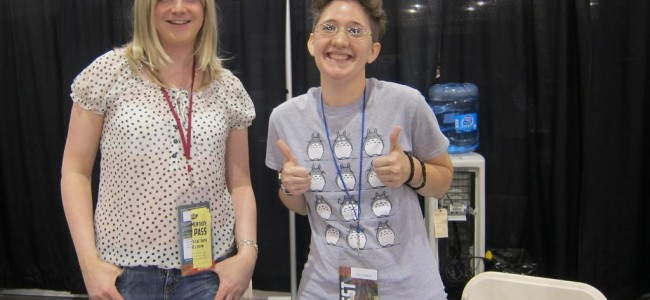 Interview with Validation's Christian Beranek and Kelci Crawford at Phoenix Comicon 14