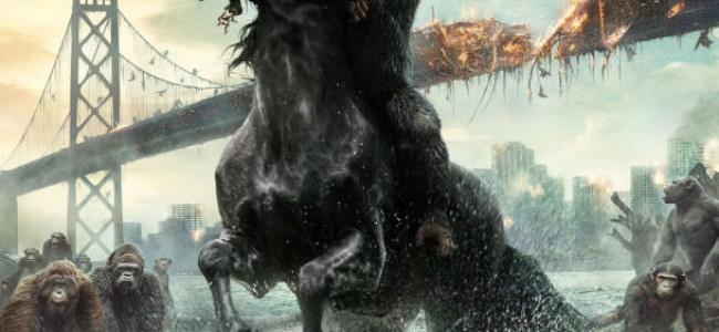 See the Awesome New Dawn of the Planet of the Apes Poster