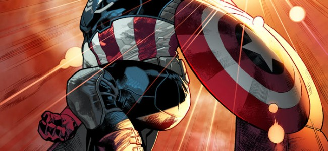 Marvel Announces Sam Wilson as New Captain America on The Colbert Report