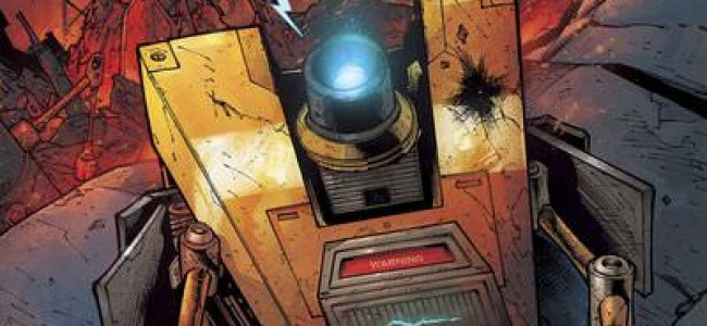 Comic Review: Borderlands #1 The Fall of Fyrestone