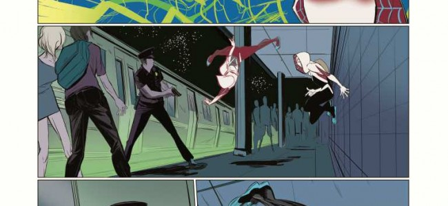 WPR First Look Comics: Gwen Stacy in Edge of Spider-Verse #2