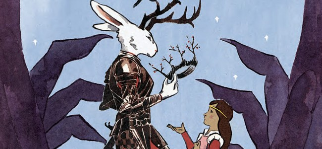 JIM HENSON'S THE STORYTELLER: WITCHES #1 is the Prettiest Childhood Storybook in a Comic