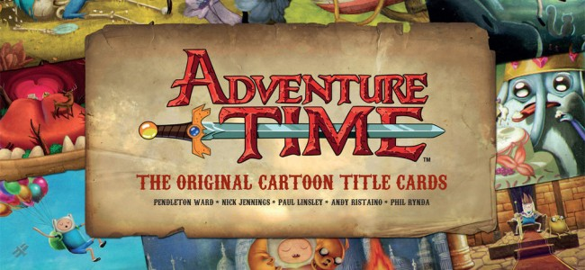 Adventure Time – Title cards book is MATHEMATICAL