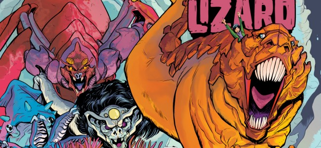 Terrible Lizard #1: There Isn't Anything Terrible About This New Comic From Oni Press