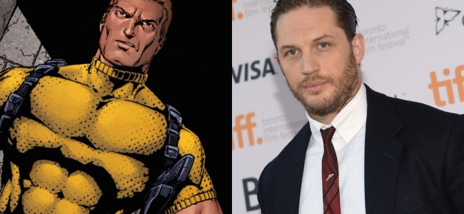 Tom Hardy Out of Suicide Squad