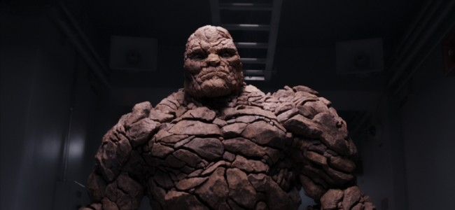 Here is a very clear image of The Thing in the new Fantastic Four film