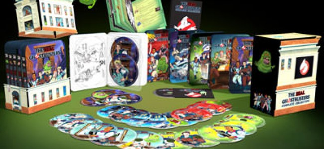 The Real Ghostbusters Amazing Box Set