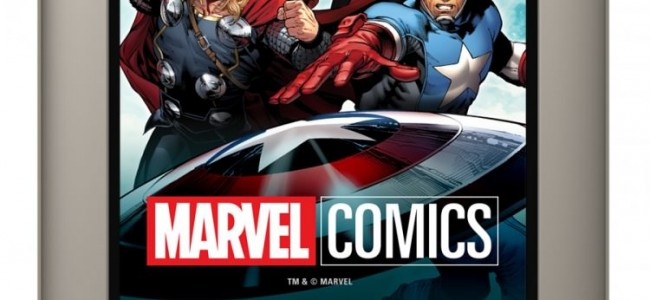 DC Comics on the Amazon Fire, Now Marvel Comics on the Nook Tablet