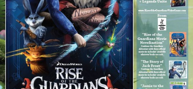 WPR'S Official Salt Lake City Advance Screening of RISE OF THE GUARDIANS + Prize Pack!