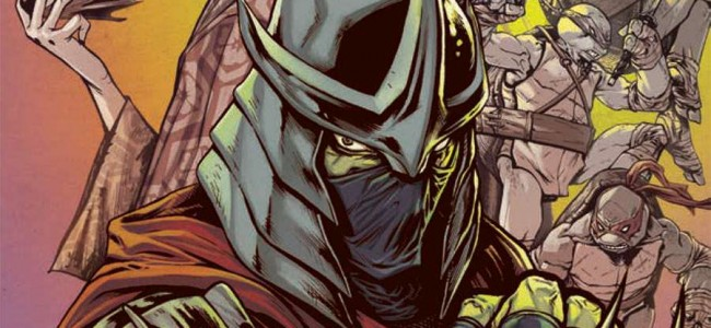 From the Comic Hold: TMNT The Secret History of the Foot Clan #1
