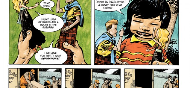 From the Comic Hold – Todd, the Ugliest Kid on Earth #1