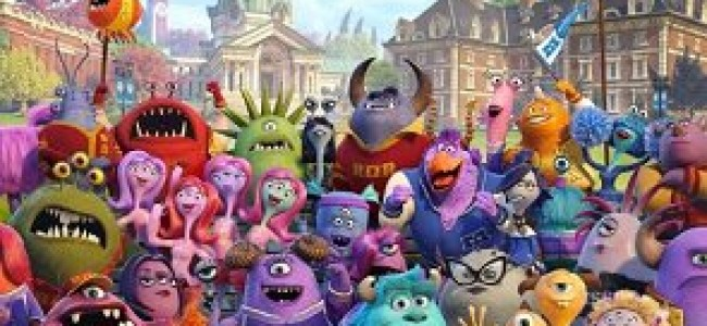 Monsters University Continuity