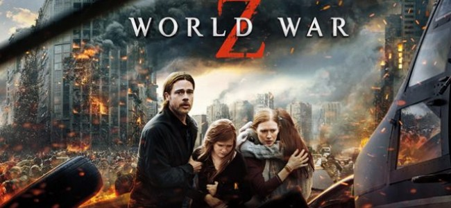World War Z out on DVD and Blu-Ray TODAY!!!