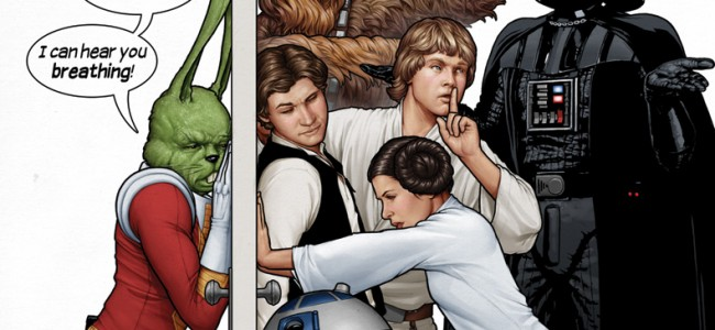 WPR First Look Comics: Marvel's Star Wars #1 Launch Party Variant Cover