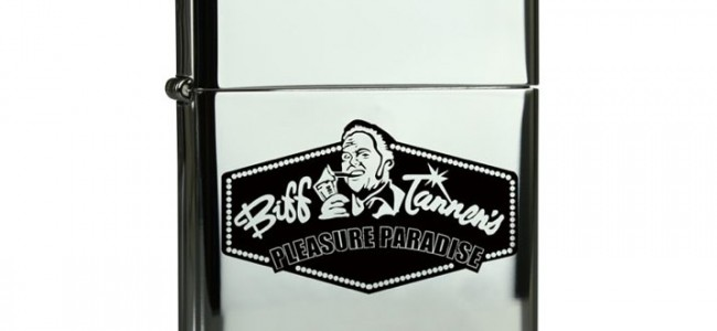 The Holiday WPR Giveaway: Back to the Future 2 Biff Tannen's Pleasure Paradise Zippo Lighter
