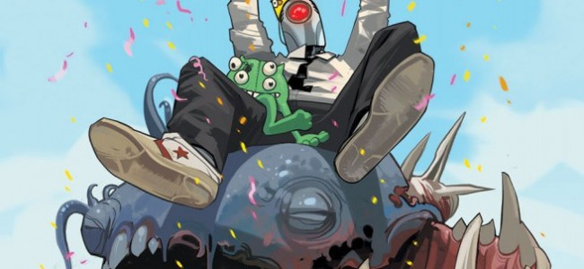 Comic Review: D4VE #1 – Are you there, God? It's me, D4VE.