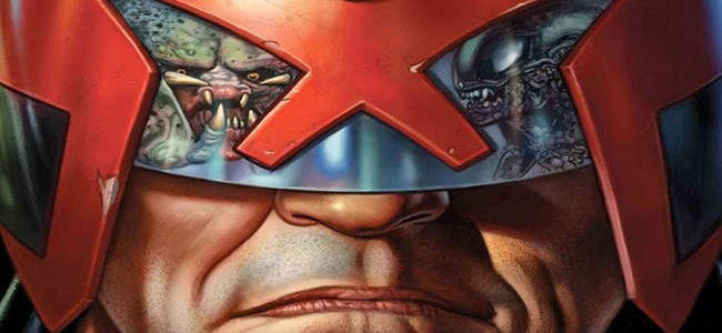 Comics You Crave – Predator vs Judge Dredd vs Aliens #1