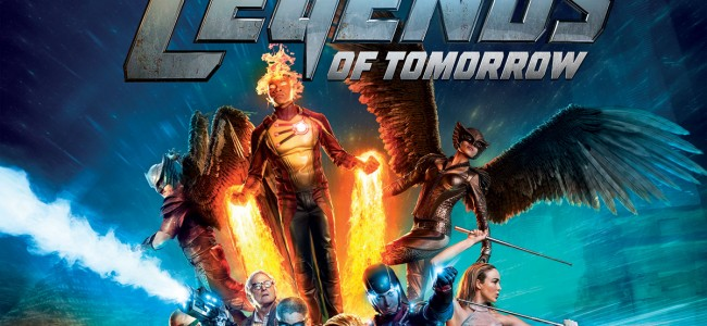Don't Wait for Tomorrow, Become a Legend Today! DC's Legends of Tomorrow is on Blu-ray!